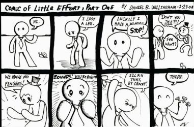 Comic of Little Effort by stinkywigfiddle