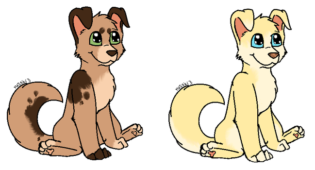 1 Point Pup Adopts CLOSED by Mitzi-Mutt