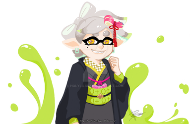 Agent 2 Marie by HolyLilium