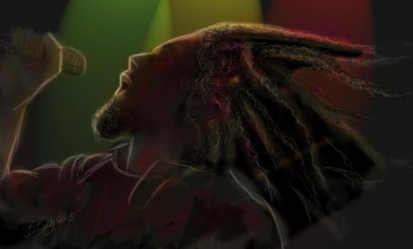 Bob Marley by Truley-Unruly