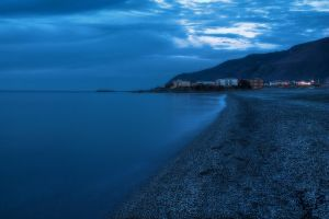 Blue sunset - HDR by yoctox