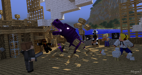 Endersaur Ship Invasion by micajah3