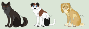 5 pt Canine Adopts [Closed] by Sukida-Adopts