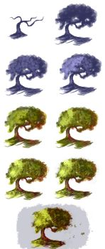 Tree - step by step by ryky