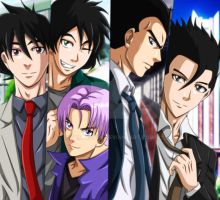 DBZ in Suits by Sam-Baten