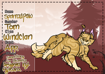 ANP // Sparrowpaw by Sushipies