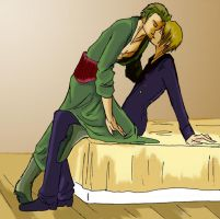 Zoro x Sanji by StephanyHardy