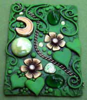 Emerald Garden ACEO by MandarinMoon
