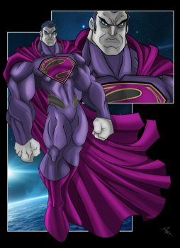 Bizarro Superman by Helmsberg