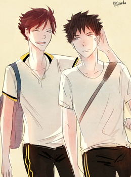 Iwaoi x 19 days by AlliandoAlice