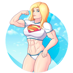 Supergirl by shamserg