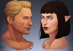 Bredge and Cullen by Merwild