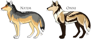 WoLF: Spring Opening Adoptables - CLOSED by DasChocolate