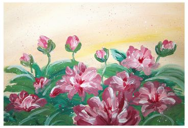 Peonies for friends by Alena-48