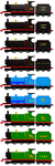 Andrew (James Form) Timeline By Agent555 (updated) by MarcoE424