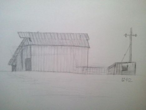Old barn on Ontario Rd. by robbjosf