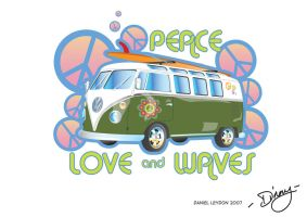 Peace Van by theblastedfrench
