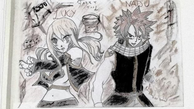 Lucy and Natsu by Relmus30