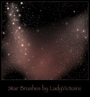 Starfield Brushes 2 by LadyVictoire