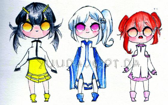 [CLOSED] QTIE ADOPT SET 1 by yuudadopt