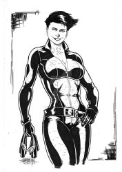 Catwoman by JeanSinclairArts