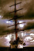 The Crystal Ship by DormirReverPeutEtre