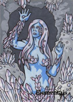 Elementals Sketch Card 4 by ElainePerna