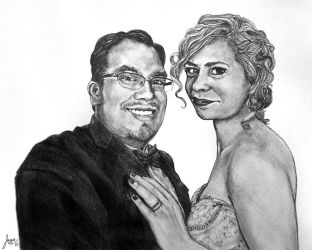 Dana and Emily Nicholson - wedding day portrait by myprettycabinet