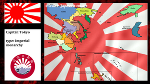 Greater japaneese empire (mapping) by DimLordofFox