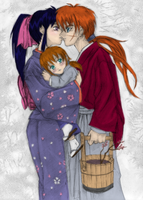 Kaoru - Wife and Mother -Color by Desirie