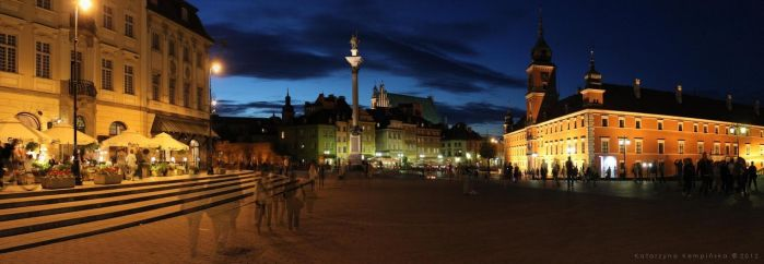 Old Town in Warsaw by K-Kemp
