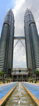 KL Twins Tower by Momo-Zhao