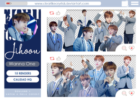 #095 | Pack PNG | Park Jihoon | Produce 101 by jellycxt