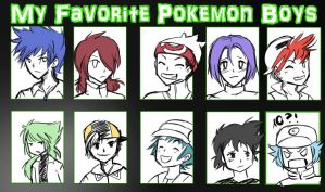 My Favourite Pokemon Boys Meme by Ardhes