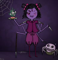 Undertale - Muffet by lolke12