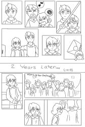 Brothers : A Voltron Comic : Page Two by AnimeInMyPocket