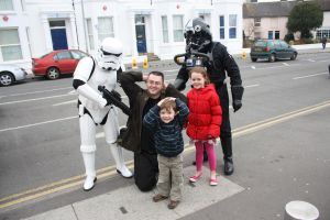 Arrested by Storm Troopers by mikedaws