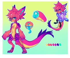 SELLING THIS CHARACTER by Ruxree