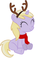 Dinky just loves the holidays by AxemGR