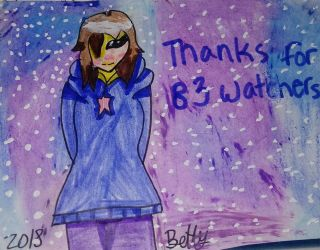 Thanks for 83!! by BettyNoir667
