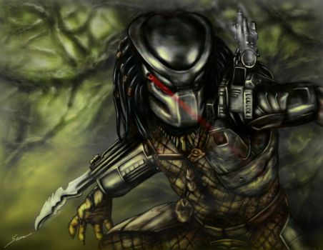 The Predator by fromthedead