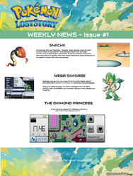 Pokemon Lost Story - Weekly News - Issue #1 by magickid1234
