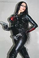 Real life Baroness from G.I. Joe (cosplay) by Daelyth