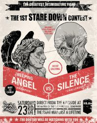 1st Stare Down Contest by zerobriant