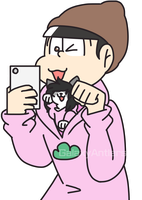 Little Todomatsu by galaxyantlers