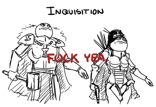 Inquisition by xtrapieces