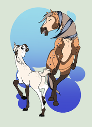 Personal Padro Art#3 [N4665 and N3646] by horses0101
