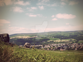 Ilkley Retro Photo by Spe4un