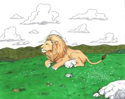 The Lion and the Lamb - final by KaizokuShojo