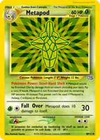 Metapod Fake Card